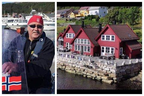 UTLEIGAR: Roald Kjelstad eig tre samanhengande hytter i Kalvåg. Dei er allereie leigd ut så å seie heile sommaren, fortel han.