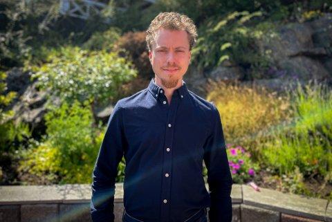 FRÅ DOKTORGRAD TIL LEVEBRØD: Håkon Aleksander Hartvedt Olsen Myklebust har etablert eige aksjeselskap som skal drive utleige av støvsensorar til metallindustrien. I tillegg skal han drive konsultasjon, rådgjeving og databehandling.
