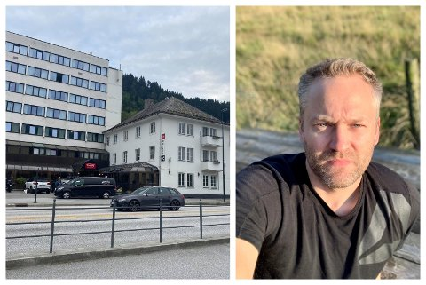 TESTAR: Jan Erik Gausdal er eitt av Norges litt over 2.200 medlemmer i Mensa. På Thon Hotell i Førde kan du prøve deg på opptak.