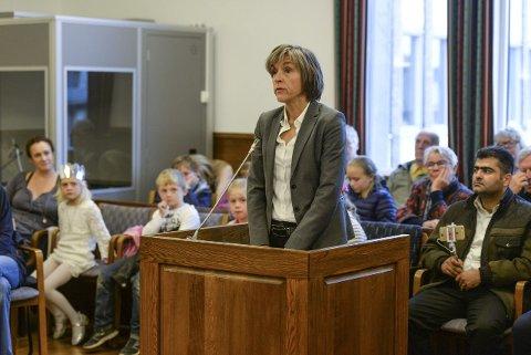 Rettssak: En rettssak om fyllekjøring ble gjennomført som skuespill lørdag ettermiddag.