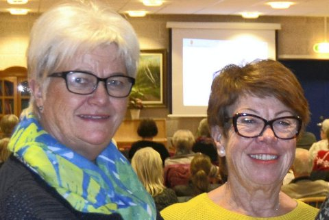Greta Andersen og Anne-Kirsti Pedersen.