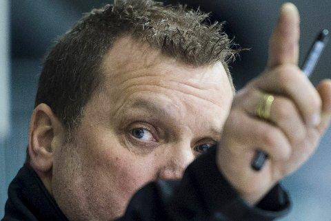 UTPEKT: Magnus Sundquists har tatt over son hovedtrener i Brynäs