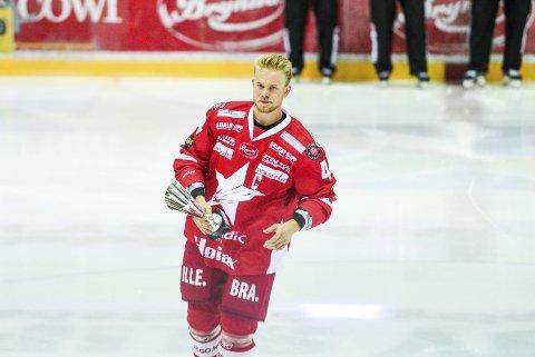 KLAR FOR LOKALOPPGJØR: Victor Backman er friskmeldt til torsdagens fight i Stjernehallen. Foto: Kent-Inge Olsen