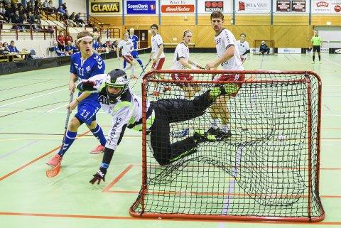 TAP: Fredrikstad Innebandy yppet seg, men tapte mot serietoer Sveiva i Rolvsøyhallen.BEGGE FOTO: Kent Inge Olsen