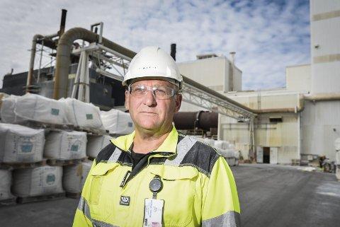 Lokal tillitsvalgt: Sigurd Olsen er formann for lokalavdelingen av Lederne i Fredrikstad. Han tror at Østfolds situasjon som gammelt industrifylke forklarer mye av lønnsstatistikken.foto: kent inge olsen