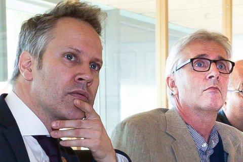 Nå kan en bare spørre seg hvorfor kommunens høyeste nivå velger hemmeligholdelse framfor åpenhet og klarhet, spør Erlend Øverby med adresse til ordfører Jon-Ivar Nygård og rådmann Ole-Petter Finess (bildet).