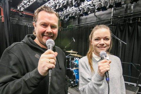 Meld deg på: Vil du ha platekontrakt? Da kan du synge deg til det på Idyllfestivalen og UKM neste år. Terje Olsen og Line Egeer-Heed heier på ungdommer fra 15 til 25 år.