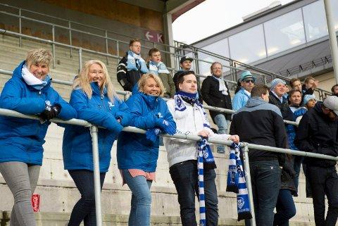 HEIA SANDNES: 08-gjengen heiet på bortelaget på Fredrikstad Stadioin.