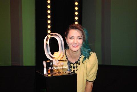 Selda Ekiz er programleder for NRK-programmet Klassequizen.