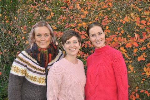 ENGASJERT: Ingunn Lieng (i midten) og Henriette Olaussen (t.h.) startet opp gruppa for brystkreftrammede i Østfold under 45 år for to år siden. Alice Berger (t.v.) var den første som ble rekruttert i gruppa som i dag har nesten 30 medlemmer.