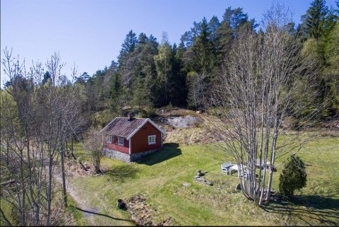 RIMELIG IDYLL: Du bor landlig og usjenert i Vabakken i Torsnes, men du må være forberedt på enkle kår.