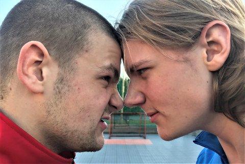 HUSFRED?: På søndag spiller Daniel (t. v.) og Harald Nyseth Svendsen NM-finale for hhv. Fredrikstad og Sarpsborg G19.