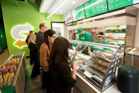 I løpet av sensommeren åpner Subway på nytt dørene i Fredrikstad sentrum. Her fra en annen Subway-restaurant.