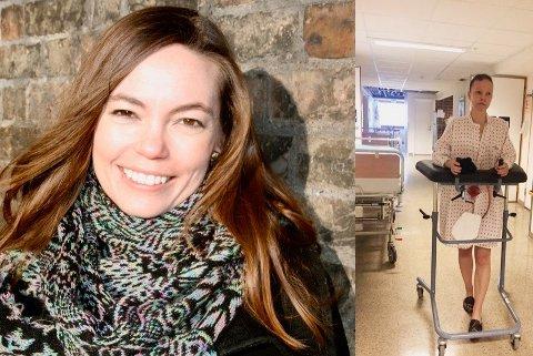 KREFTSYK: Dette bildet av Elisabeth Rasmussen har vennene brukt på innsamlingssiden GoFundMe.