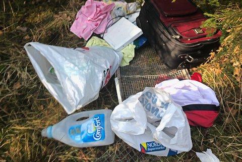 Etterlatenskapene etter søppelsvine er lett gjenkjennelige. De bryr seg lite om at at andre må plukke opp og rydde etter dem der de ferdes.