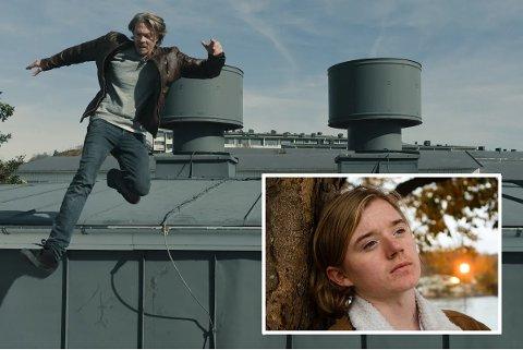 REKORD: Jakob Hetland (innfelt) spiller rollen som unge Olle, karakteren til Kristoffer Joner, i serien «Maskineriet» som denne helgen satte seerrekord på Viaplay.