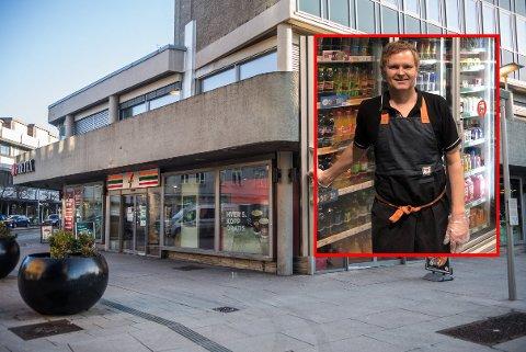 LANDETS BESTE: Reitan Convenience Norway har kåret Alexander Martinsen til Årets kjøpmann i 7-Eleven.