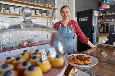 – Jeg har alltid vært glad i å lage mat og bake. Jeg har ikke jobbet med det på profesjonelt nivå før, men har mye kjærlighet til mat, sier Agota Medgyesi til Fredriksstad Blad. Hun er ny driver av Café Cicignon.