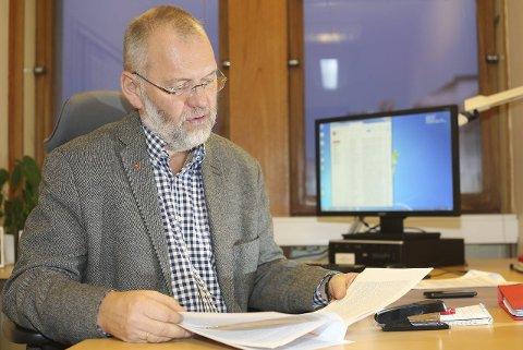 PASSER PÅ: Geir-Ketil Hansen, varaordfører i Narvik, lover å følge nøye med i den framtidige organiseringen av UiT, Norges arktiske universitet.