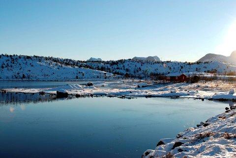 IKKE FLERE: Her i Slåttvikstraumen tillates ikke flere hytter, men i Sæterosen tillates opp mot 30 nye. Arkivfoto: Ann-Chatrin Braseth.