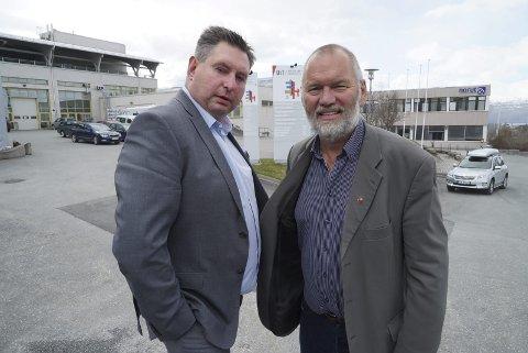 I morgen drar Rune Edvardsen og Geir-Ketil Hansen til Oslo for å protestere mot endringer i eiendomsskatten.