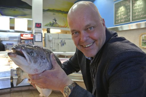 Kjetil Moe er tydelig på at det må satses på havbruk i Ofoten om næringslivet skal utvikles.
