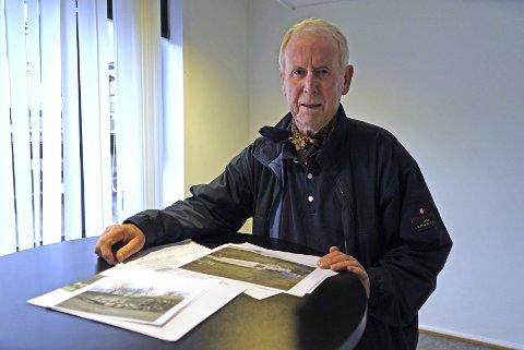 Flyplass: Roald Kristensen mener man god grunn til å være bekymret for ruten mellom Evenes og Bodø i fremtiden. Arkivfoto  Bildetekst