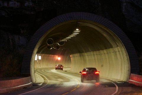 Illustrasjonsfoto av Fagernestunnelen.