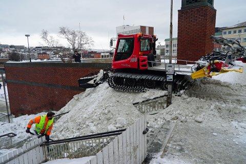 UTEHELG: Det lades opp til ei skikkelig utehelg i Narvik. Da er det greit å ha været med seg.