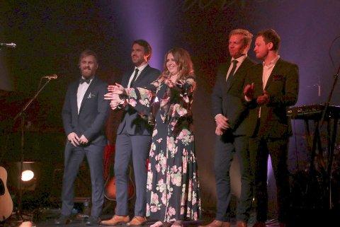 Takk: Det var første gang Ingebjørg Bratland besøkte Narvik. Hun og bandet takket for den strålende responsen fra publikum. Alle Foto: Monia Buyle