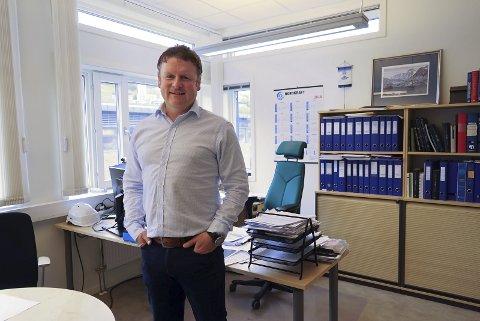 OPTIMIST: Jon Ingebrigtsen mener det er veldig god grunn til å tro på flere databedrifter i Narvik-regionen etter at kanadiske Hive Blockchain Technologies var først ute i Ballangen. – VI regner med å inngå kontrakter med andre interessenter allerede inneværende år, opplyser Ingebrigtsen. Foto: Fritz Hansen