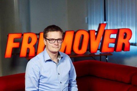 Sjefredaktør og administrerende direktør Christian Senning Andersen i Fremover.