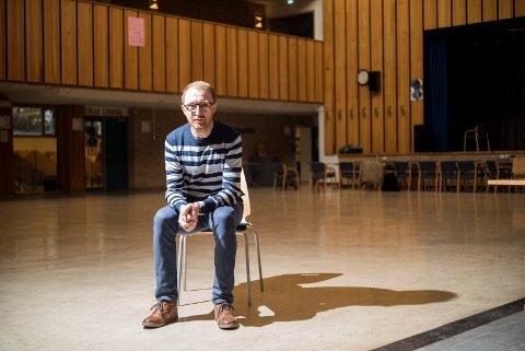 RETURNERER: Stian Johnsen er tilbake i jobben som lærer ved Narvik Vidergående i august.