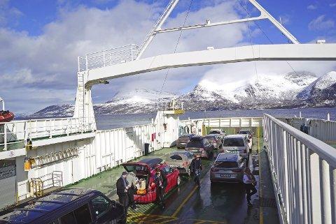 Interessant: Ny teknologi kan gi nye muligheter for fremtidens bruk av ferge i kryssingen av Tysfjord, mener Arne Hveding.