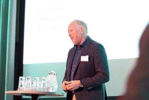 Prosjektleder for Indeks Nordland og Nord Universitet, Erlend Bullvåg.