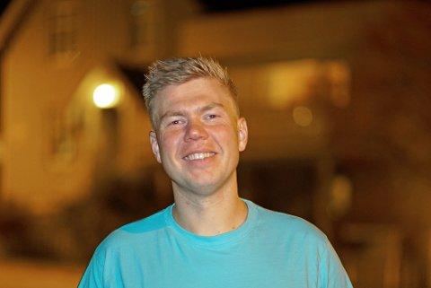 FORNØYD: Vegard Johan Lind-Jæger er fornøyd med både hans egen plassering på listen og for sammensetningen.