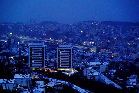 TRE AV FIRE: Hotellrom står tomme hver natt i Narvik-Harstad-regionen.