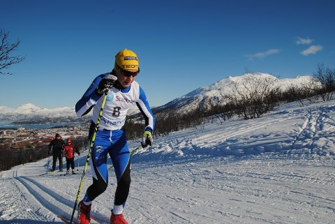 SESONGSTART: Oscar Johannessen fra Ankenes skiklubb og resten av langrennsløperne fra Narvikregionen er klar for sesongpremière på Bardufoss kommende søndag. Men årets skisesong kommer til å bli annerledes med ingen nasjonale oppgaver for de unge utverne.