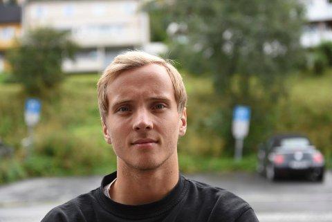 KLAR FOR HARDKJØR: Mathias Nicolaisen, Mjølner.