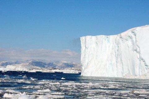 Arktis: Ny forskning viser at Arktis også mottar plastpartikler fra atmosfæren.