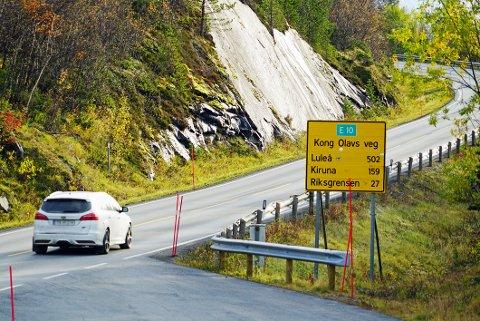STOR ØKNING: Trafikktall avslører at Nord-Sverige plutselig ble et langt mer attraktivt sted å kjøre til idet karanteneplikten forsvant 22. august. Dette bildet ble tatt i oktober 2019. Illustrasjonsfoto.