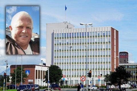 TRÅR TIL: Atle Pettersen, leder i Politiets pensjonistforbund i Narvik, er en av flere som nå bistår kommunen med blant annet koronatesting.