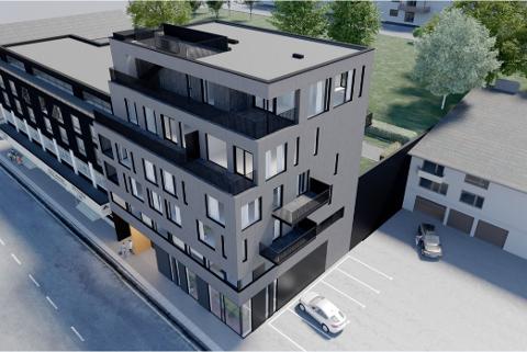 Denne toppleiligheten i Narik sentrum er priset til godt over 15 millioner kroner.