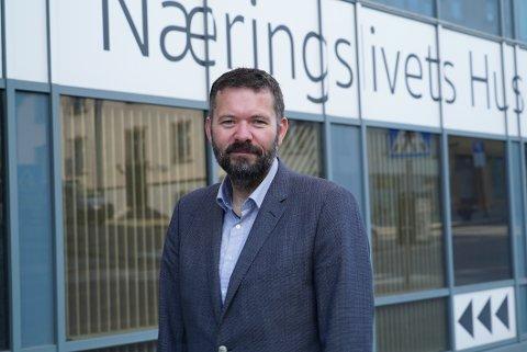 LINK NARVIK: Sven Erik Kristiansen i Narvik næringsforening søker etter unge og engasjerte narvikinger til etablering av en møteplass for unge, samfunns- og næringslivsinteresserte som ønsker å utvikle regionen for fremtiden.