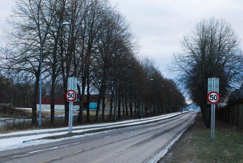 HOLDEPLASS: Nå skal det bygges tre busstopp langs Holtanveien mellom Grønligata og Bjørnestien.