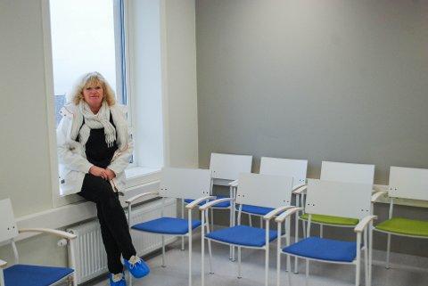 INGEN KØ: Betty Ann Heesch Skalstad kan ikke rapportere om stor pågang fra pasienter med bruddskader.