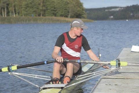 GOD: Nicolai Enstad rodde godt i helgen, og tok en 3.- og en 4.-plass i junior A, hans første år i den eldste juniorklassen.