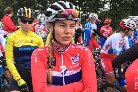 TO RITT: Martine Gjøs skal sykle både tempo og fellesstart i VM i Bergen.