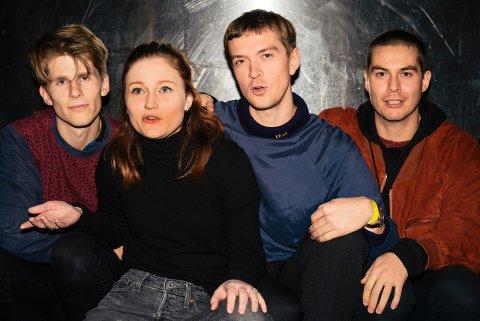 KOMMER: Sløtface melder seg på neste års festival.