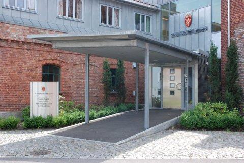 GRUNDIG: Tingretten har satt av to dager til behandling av søskenovergrepssaken i Hortenshallen.